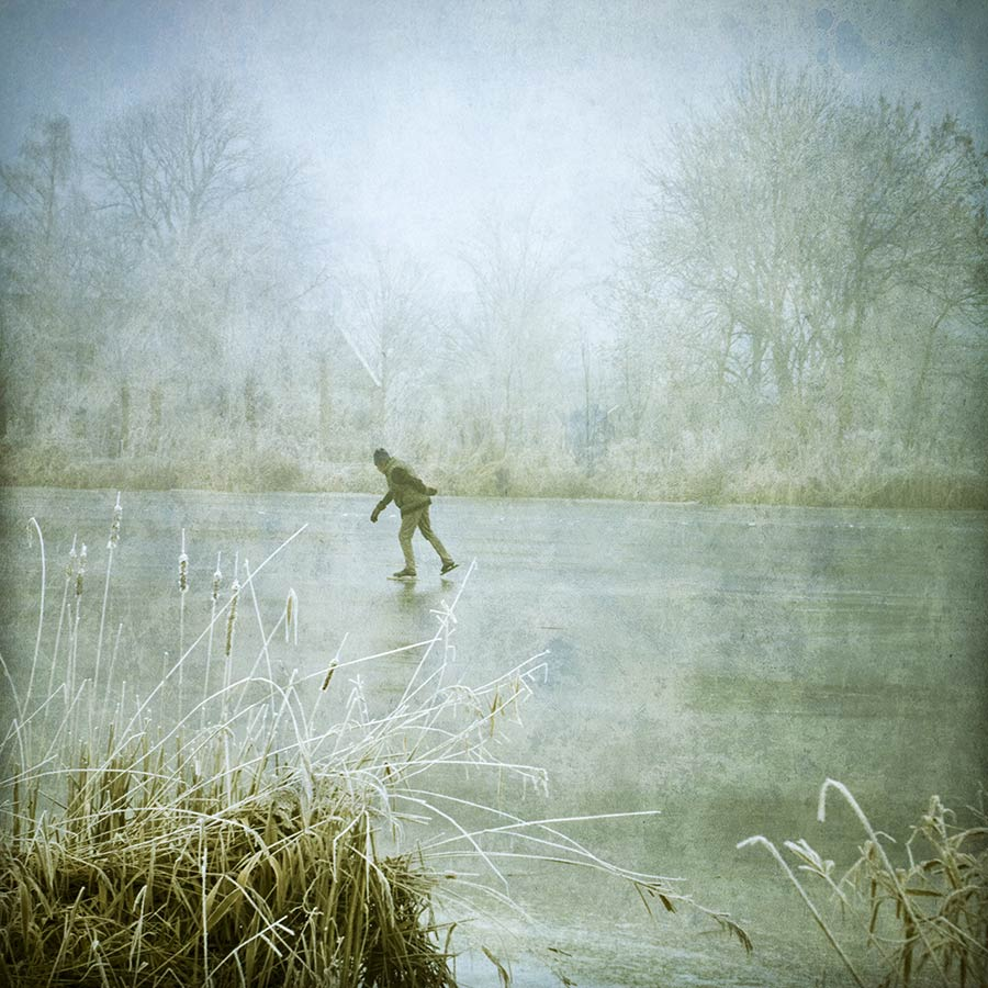 schaatser winter fotografie tip mist fotograferen fotocursus Hoofddorp