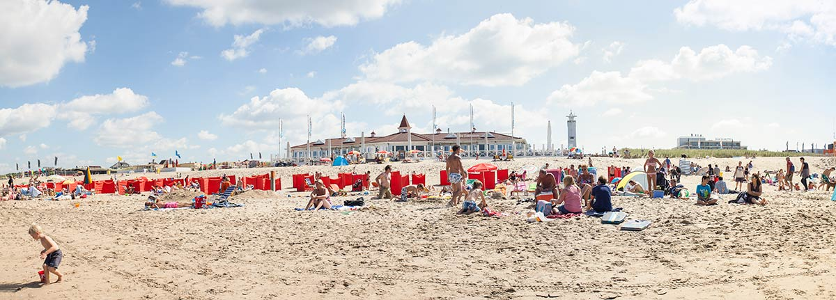 panorama Noordwijk aan Zee strand foto fotografie