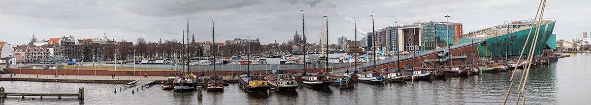 panorama foto Amsterdam fotografie