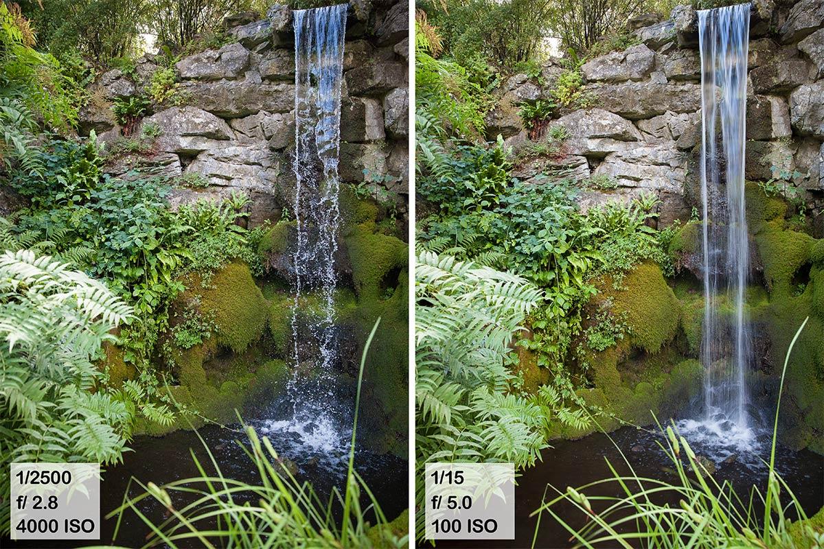 Stromend water fotograferen
