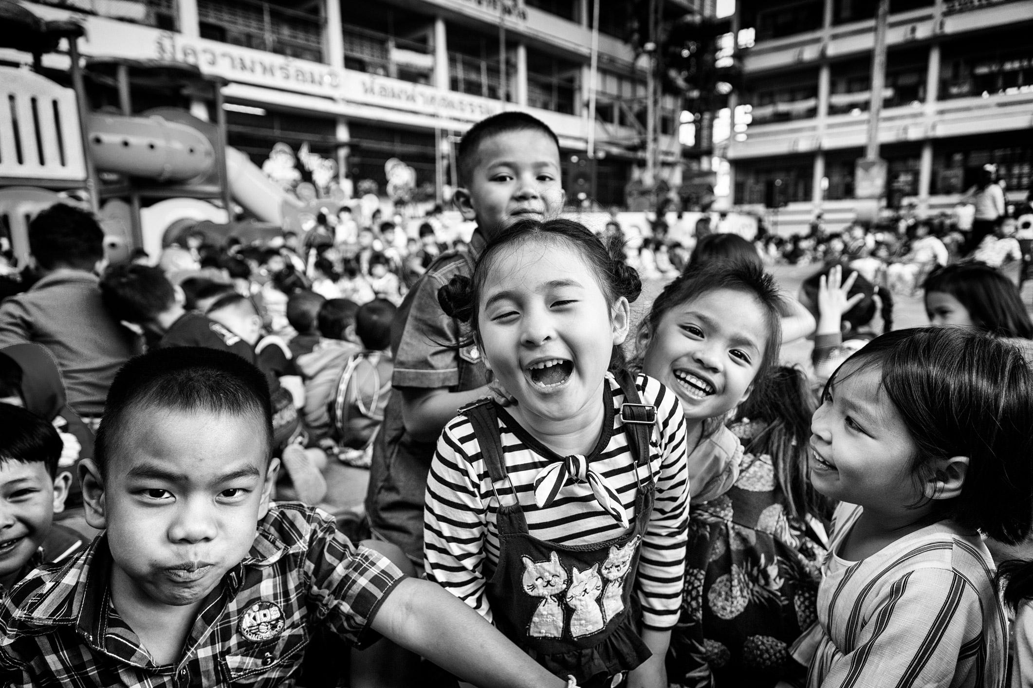kinderen Thailand