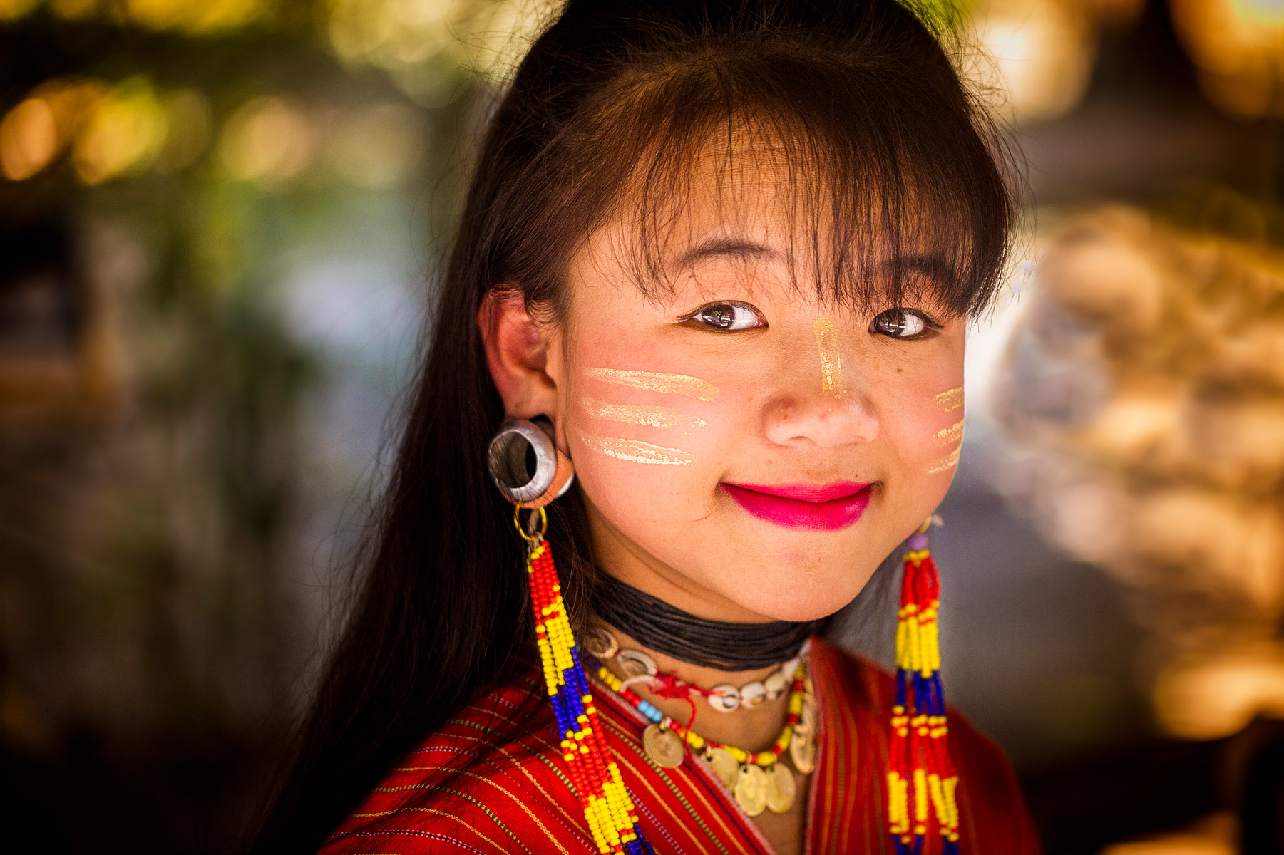 hill tribe girl Thailand