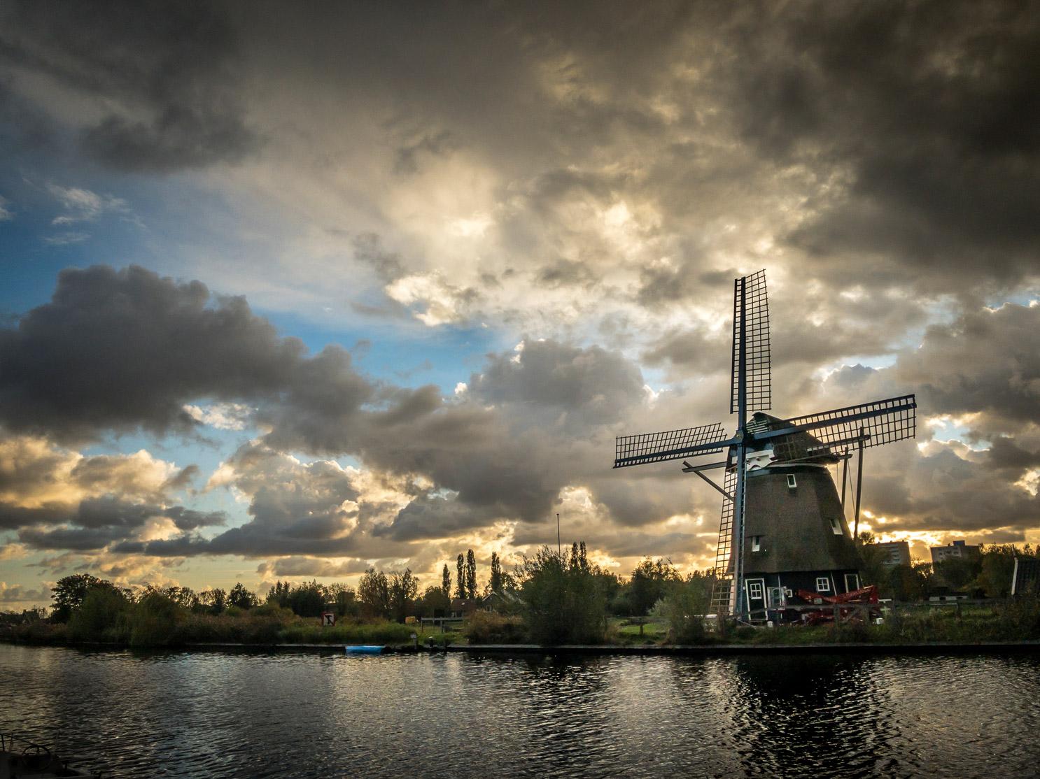 iPhone foto Ringvaart molen