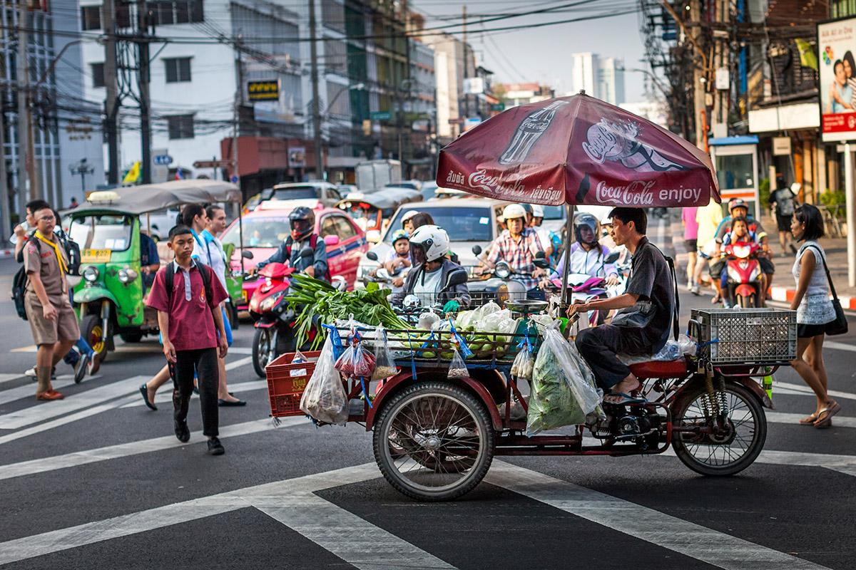 Straatfotografie Bangkok