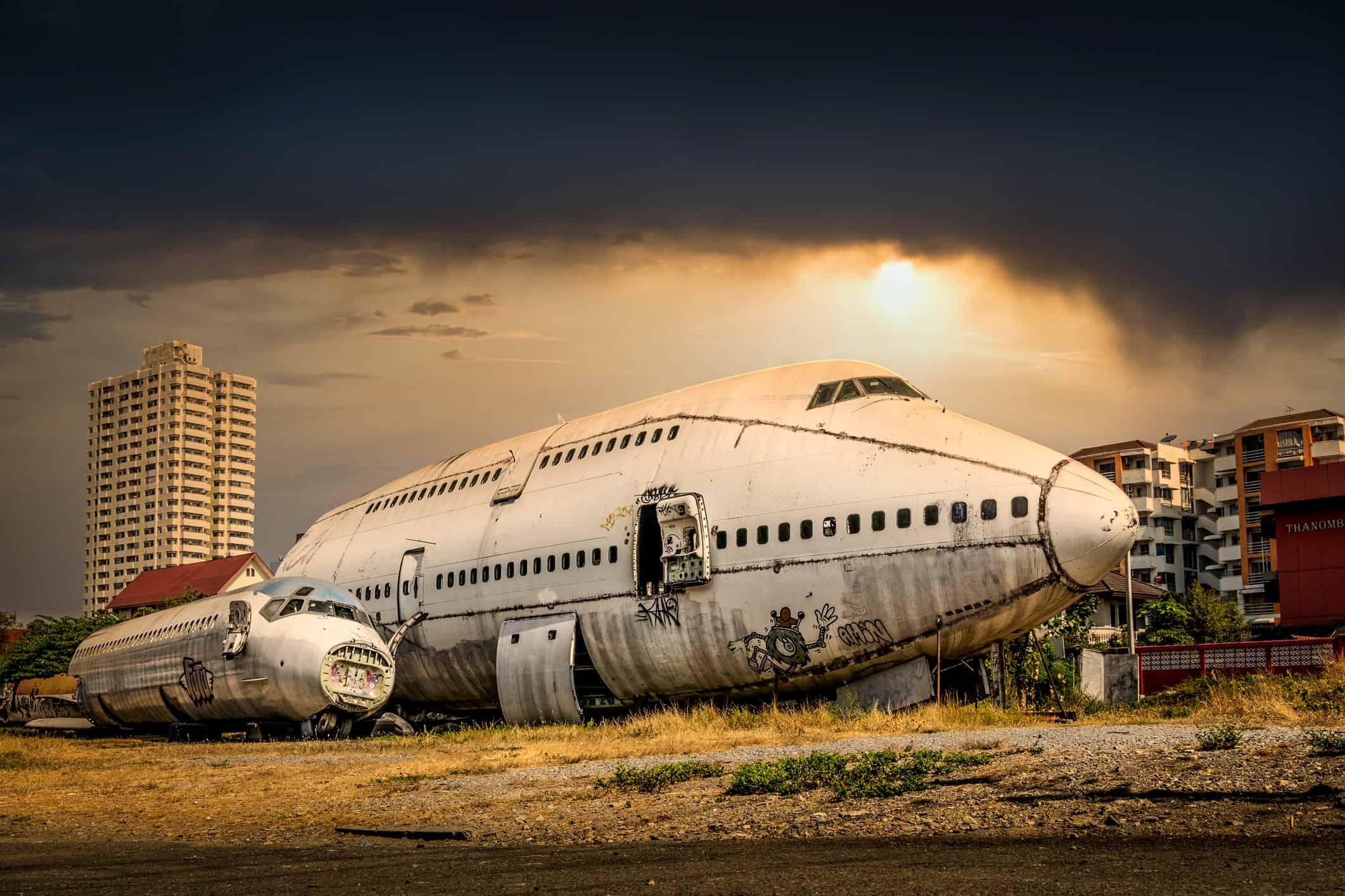 Vliegtuigkerkhof Bangkok